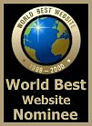 World Best Website Nominee